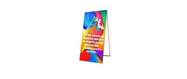 Letrero paloma impreso modelo Forza