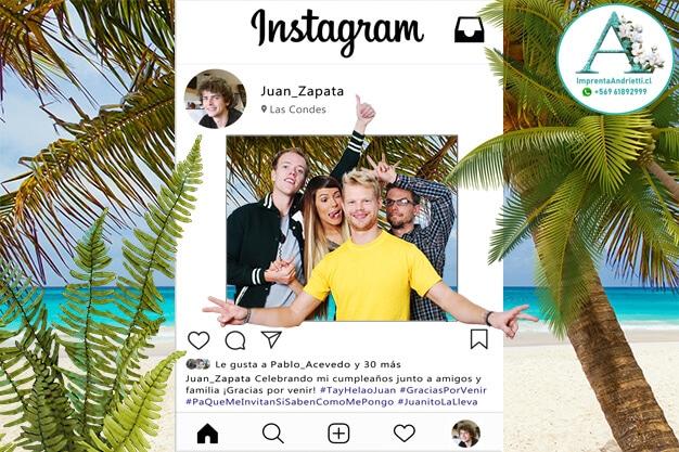 Marco selfie Instagram actualizado