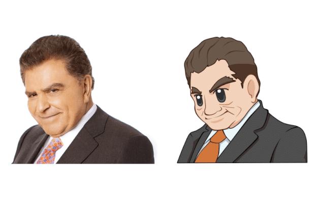 Servicio de caricaturas