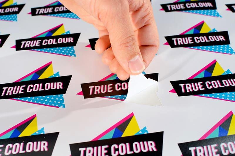 Stickers adhesivos troquelados