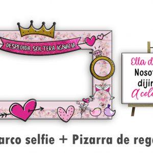Marco selfie Despedida de Soltera linea Rose