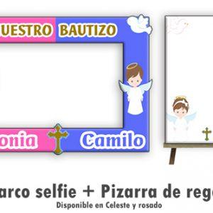 Marco selfie para Bautizo linea Bambini