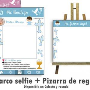 Marco selfie para Bautizo linea Calice